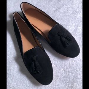 J Crew suede flats size 9 new